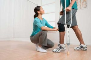 Getting off Crutches after Surgery or Injury