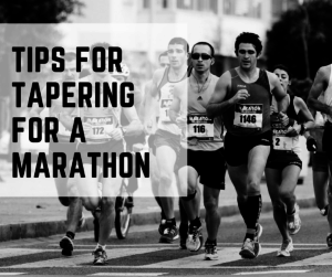 Tips for Tapering for a Marathon