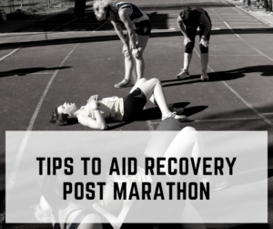 Tips to Aid Recovery post Marathon